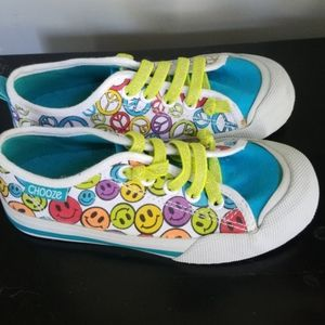 NWT Chooze Smile Sneakers